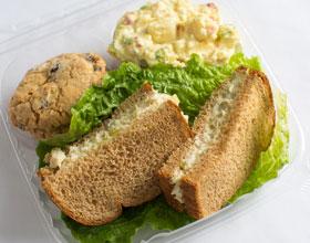 box lunch sandwich